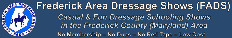 Frederick Area Dressage Shows